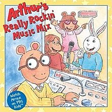Arthur's Really Rockin Music Mix (album cover).jpg