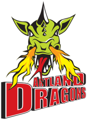Artland Dragons - Image: Artland Dragons logo