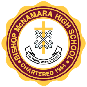 Bishop McNamara High School - Image: BMHS Logo Color