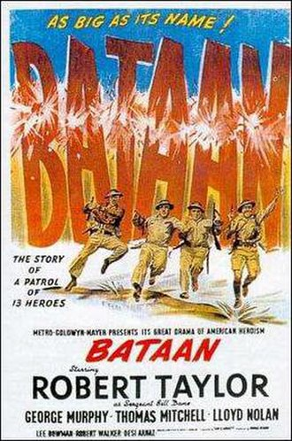 Bataan (film) - Original promotional poster