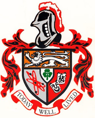 Beverly Hills High School - Image: Beverly Hills High School crest
