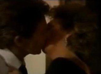 Billy Corkhill - Billy and Sheila kiss on new years 1988-89.