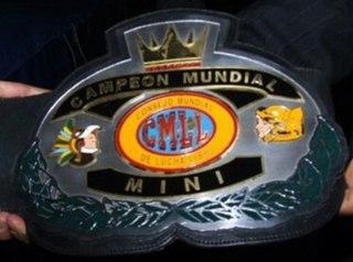 CMLL World Mini-Estrella Championship Professional wrestling midget championship