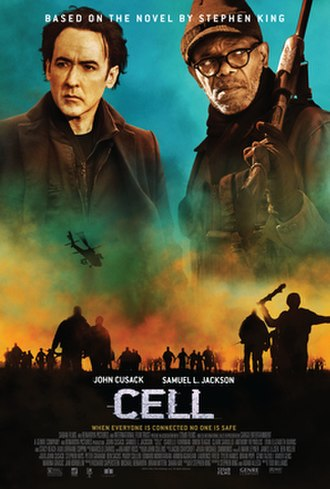 Cell (film) - Theatrical release poster