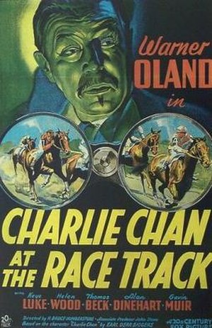 Charlie Chan at the Race Track - Image: Charlie Chan at the Race Track Film Poster