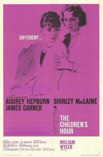 The Children's Hour (film) - Theatrical release poster
