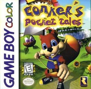 Conker's Pocket Tales - Image: Conkerspockettalesbo xart