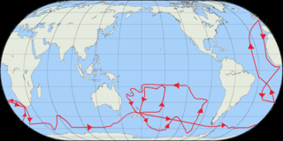 Exploration voyage from 1772 to 1775