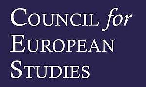 Council for European Studies - Image: Council for European Studies blue logo