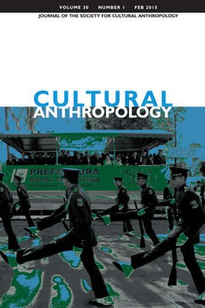 Cultural Anthropology (journal) - Image: Cultural Anthropology Feb 2015 cover