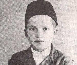 Derviš Sušić - Sušić at age 8 (1933)