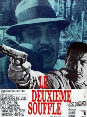 Le deuxième souffle (1966 film) - Image: Deuxiemesouffle