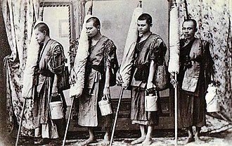 History of the Thai Forest Tradition - A group of dhutanga monks in early 20th century Thailand.