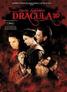 <i>Dracula 3D</i> 2012 film by Dario Argento