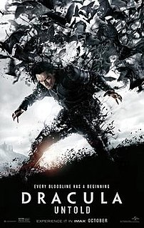 <i>Dracula Untold</i> 2014 American dark fantasy action horror film directed by Gary Shore