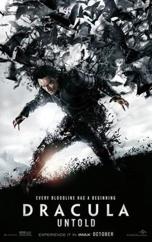 Dracula Untold - Theatrical release poster