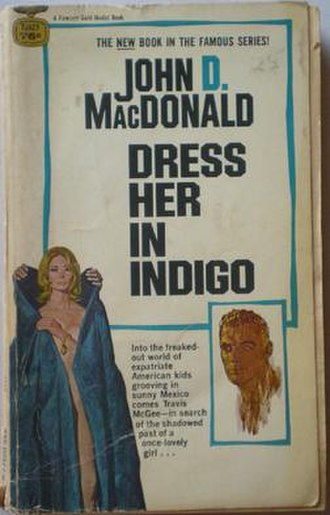 Dress Her in Indigo - First edition cover