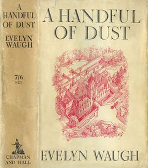 A Handful of Dust - Cover of first UK edition (1934)