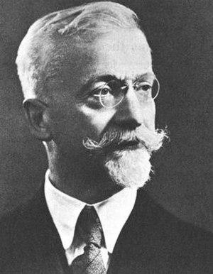 Élie Cartan - Professor Élie Joseph Cartan