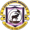 Official seal of Elkins, Arkansas
