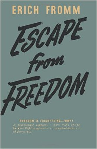 Escape from Freedom - Cover of the first edition