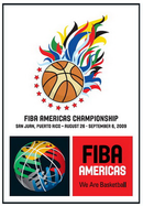 Official logo of the 2009 FIBA Americas Championship