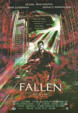 Fallen (1998 film) - Theatrical release poster