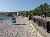 Feodosia embankment