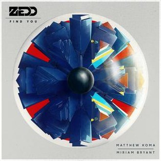Find You (Zedd song) - Image: Find You (song)