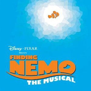Finding Nemo – The Musical - Image: Finding Nemo The Musical Album Cover