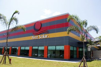 Economy of Malaysia - First Solar's factory in Kulim