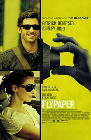 Flypaper (2011 film) - Theatrical release poster