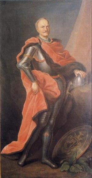 Franciszek Maksymilian Ossoliński - Image: Franciszek Maksymilian Ossolinski (1676 1756)