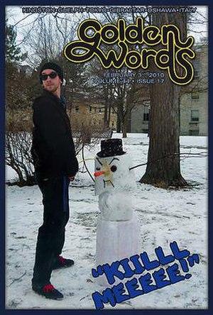 Golden Words - Image: GW cover Feb 3 2010