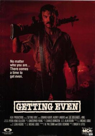 Getting Even (1986 film) - Image: Getting Even 1986