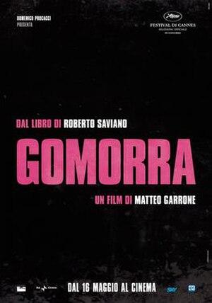 Gomorrah (film) - Gomorra Italian theatrical poster