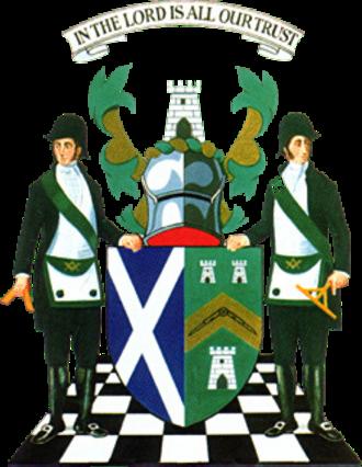 Freemasonry in Scotland - Arms of the Grand Lodge of Scotland