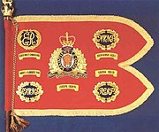 Guidon of the Royal Canadian Mounted Police (RCMP)