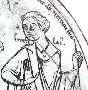 Ælfwald of East Anglia - Saint Guthlac