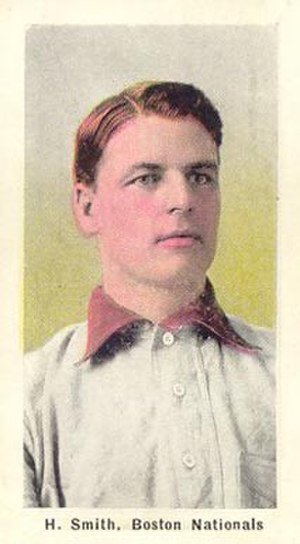 Harry Smith (1900s catcher) - Image: Harry Smith 1910