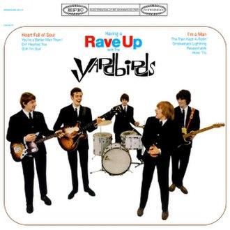 Having a Rave Up with The Yardbirds - Image: Havingaraveup