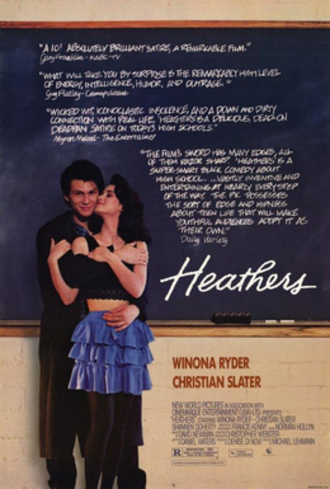 Heathers - Theatrical release poster