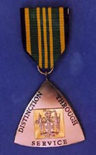 Order of Distinction - Image: Honours badge 2