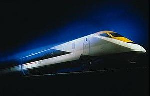 InterCity 250 - Artist's impression of a Class 93 locomotive