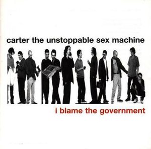 I Blame the Government - Image: I Blame the Government album cover