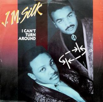 J.M. Silk — I Can't Turn Around (studio acapella)