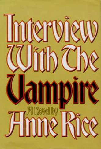 Interview with the Vampire - First edition cover
