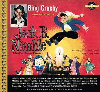 Jack B. Nimble – A Mother Goose Fantasy - Image: Jack B. Nimble – A Mother Goose Fantasy (album cover)