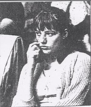 Murder of Sylvia Likens - Jenny Likens watching the proceedings of the Baniszewski trial. It was her who instigated the investigation and the subsequent arrest of her sister's torturers and murderers.