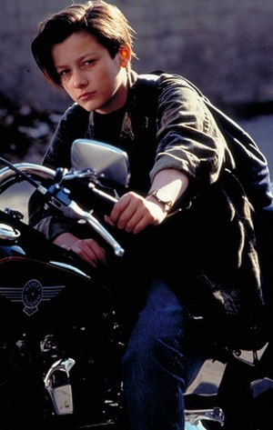 John Connor - Edward Furlong as John Connor in Terminator 2: Judgment Day and T2 3D: Battle Across Time.